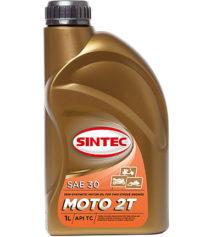 Sintec Moto 2T масло моторное 1л
