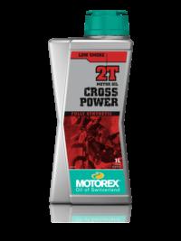 MOTOREX мото масло моторное CROSS POWER 2T 1л.