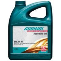 ADDINOL Economic 020  0W20  SN  масло моторное 5л