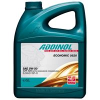ADDINOL Economic 0520  5W20  SN  масло моторное 5л
