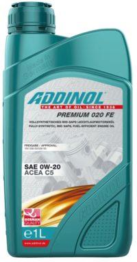 ADDINOL Premium 020 FE 0W20 A1/B1   масло моторное 1л