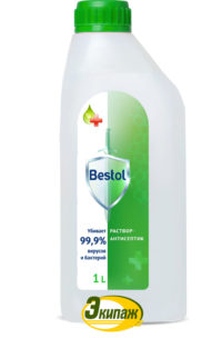 Средство дезинфицирующее (кожный антисептик) Bestol 1л