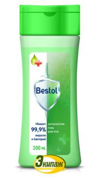 Средство дезинфицирующее (кожный антисептик) Bestol 200мл гель