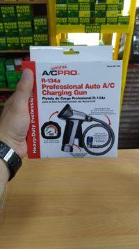 Профессиональное приспособление для заправки кондиционера автомобиля idQ QC-2HD
