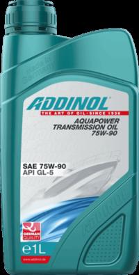 ADDINOL Aquapower Transmission Oil 75W90 GL-5/GL-4  масло трансмиссионное 1л