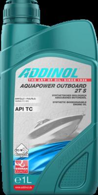 ADDINOL Aquapower Outboard 2T S    TC NMMA TC-W3 масло моторное 1л