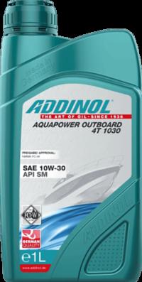 ADDINOL Aquapower Outboard 4T 10w30 масло моторное 1л