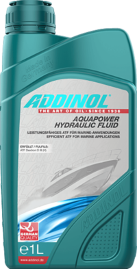 ADDINOL Aquapower Hydraulic Fluid  Dexron D III (H)    1 Л масло лодочное гидравлическое