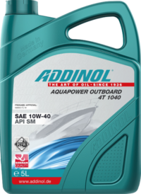 ADDINOL Aquapower Outboard 4T 10w40  SM NMMA FC-W масло моторное 57л