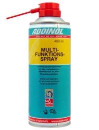 ADDINOL Multifunktions spray  смазка многофункциональная 0,4 Л