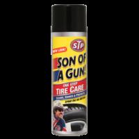 "STP® ПЕННЫЙ ОЧИСТИТЕЛЬ ШИН ""Son of a Gun One Step Tire Care"" 600 мл"