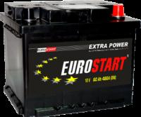 Аккумулятор EUROSTART 100Ah R (обр.пол.)  12V 800A   353×175х190
