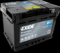 Аккумулятор EXIDE  Premium  Азия 75A/ч (EA755) (пр.пол.)  12V 630A    272х170х225