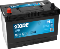 Аккумулятор EXIDE  MICRO-HYBRID Start-Stop EFB 95A/ч ()(пр.пол.) 12V 800 A    306х173х222