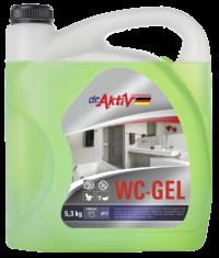 Dr.Aktiv Средство чистящее кислотное для туалетных и ванных комнат WC — GEL 5,3 кг
