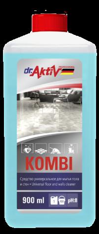 Dr.Aktiv Средство универсальное для мытья пола и стен Kombi 900мл